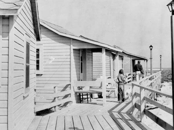 original East Deck cottages