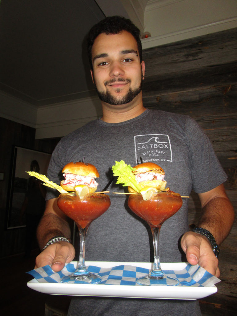 Saltbox's-Lobster-Sliderrs-and-Bloody-Marys